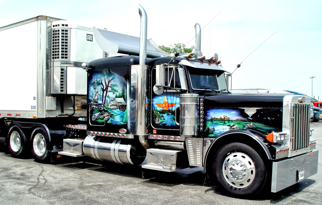 Truck With Reefer